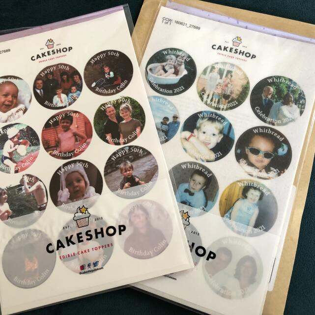 Cakeshop.com 5 star review on 18th June 2021