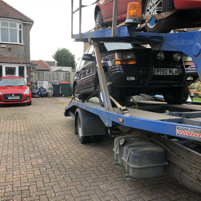 Abbey Scrap Cars 5 star review on 19th March 2021