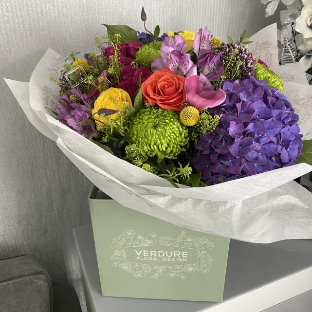Verdure Floral Design Ltd 5 star review on 25th July 2021