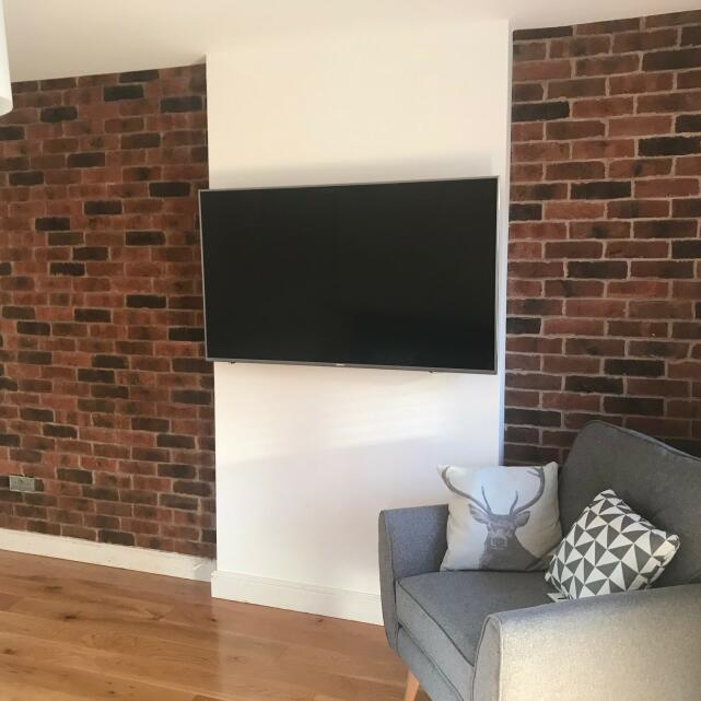 Reclaimed Brick-Tile 5 star review on 21st August 2018