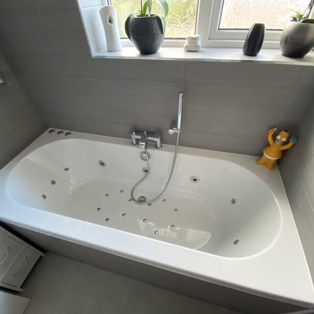 The Whirlpool Bath Shop 5 star review on 12th September 2020