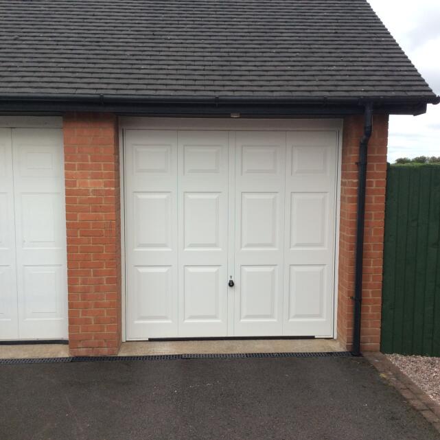 Arridge Garage Doors 5 star review on 6th August 2020