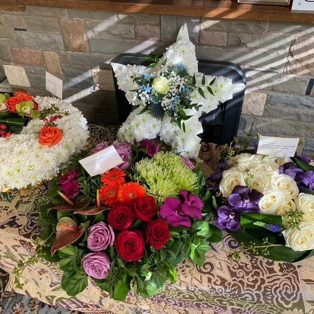 Verdure Floral Design Ltd 5 star review on 2nd April 2021