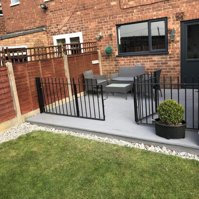 The Stone and Garden Company 5 star review on 4th April 2019