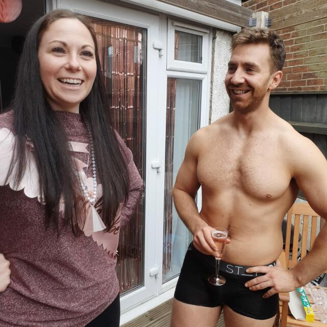 Hunks in Trunks 5 star review on 24th May 2021