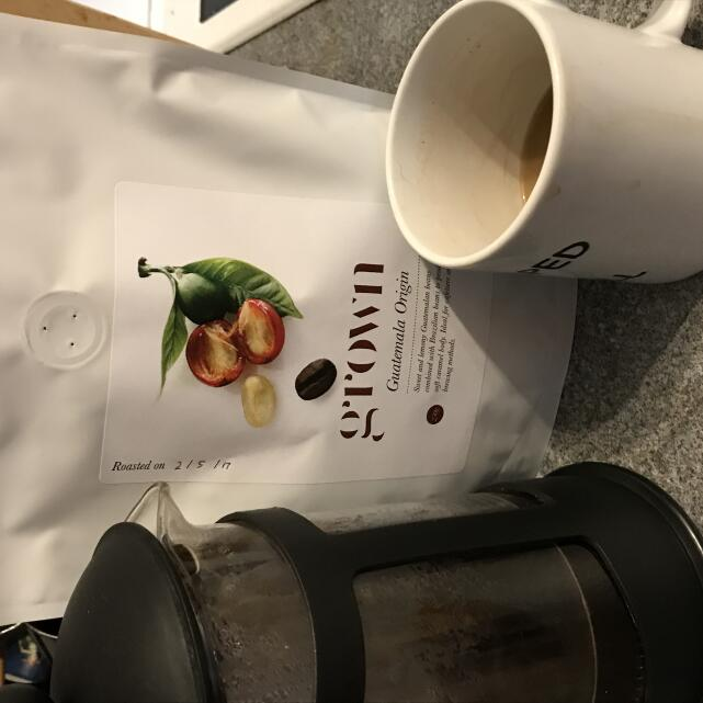 Grown Coffee Co. 5 star review on 4th May 2017