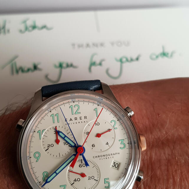 Farer 5 star review on 30th July 2019