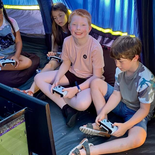 Pop Up Arcade 5 star review on 21st July 2021