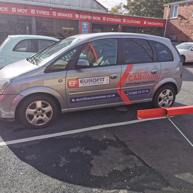 Eurofit Autocentres 5 star review on 9th October 2020
