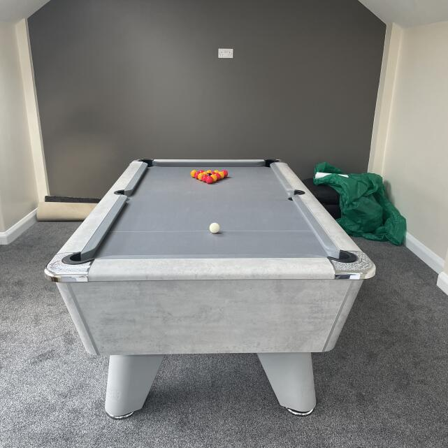 Pool Tables Online 5 star review on 28th April 2021