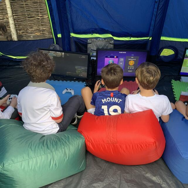 Pop Up Arcade 5 star review on 15th July 2021