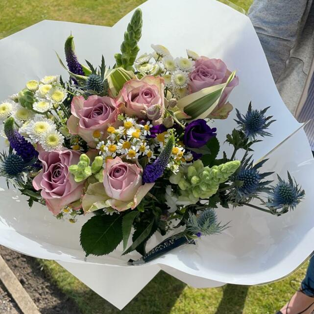 Haute Florist 5 star review on 19th April 2021