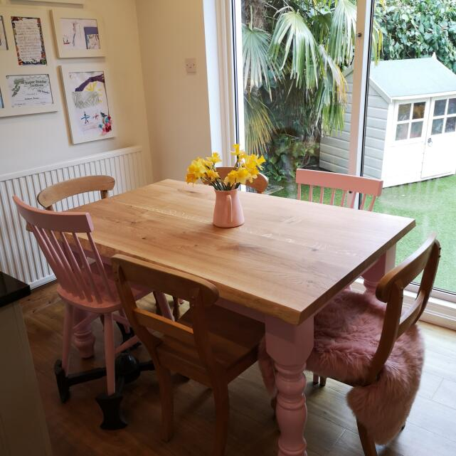 Farmhouse Table Company 5 star review on 6th March 2021