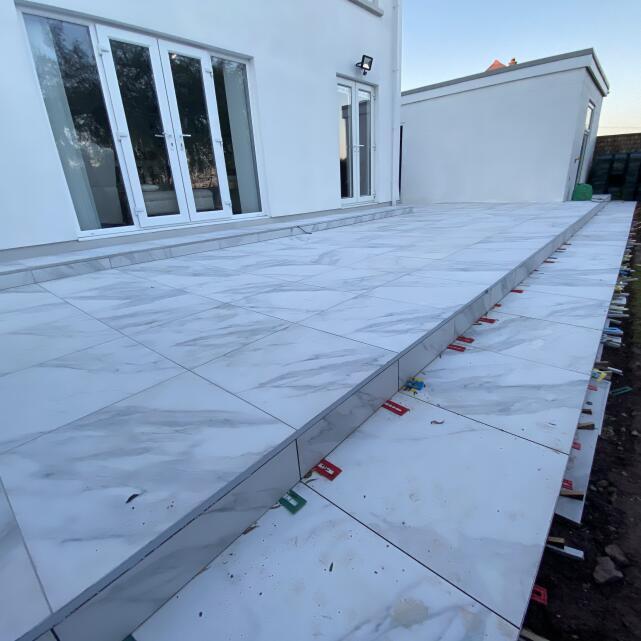 Premium Tile Trim 5 star review on 1st June 2021