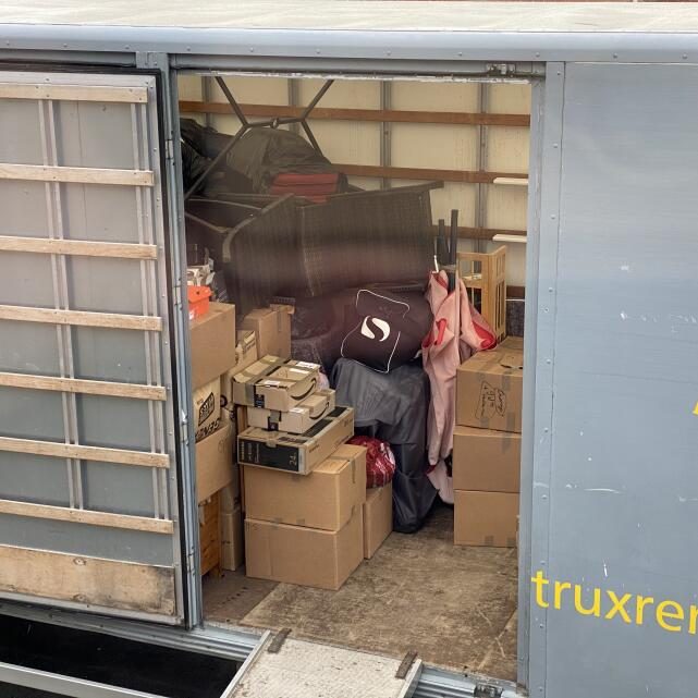 Trux Storage & Removals 5 star review on 21st May 2021