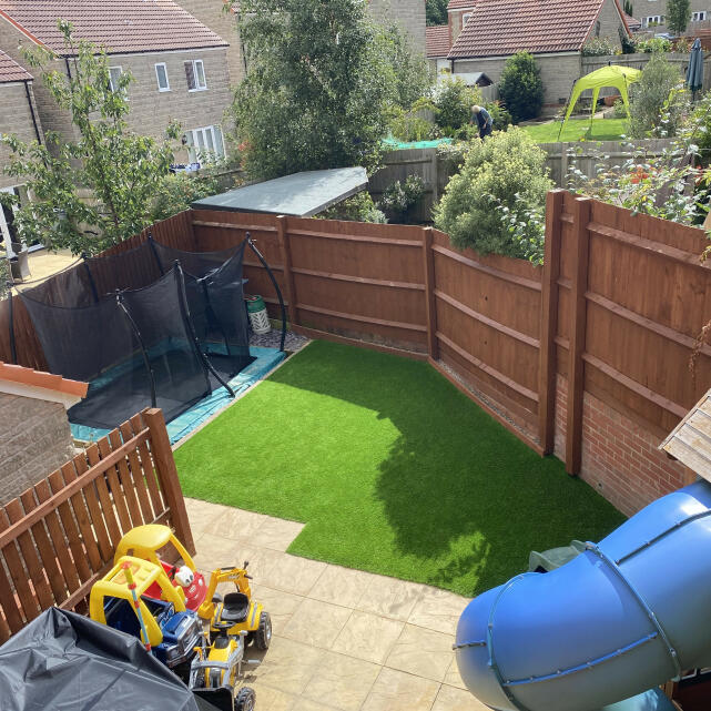 LazyLawn 5 star review on 29th July 2020