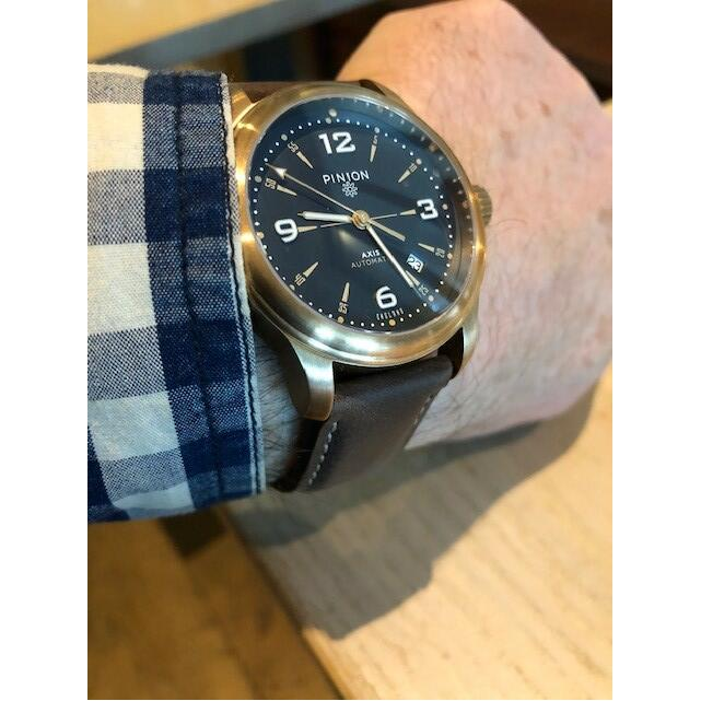 Pinion Watches 5 star review on 26th November 2018