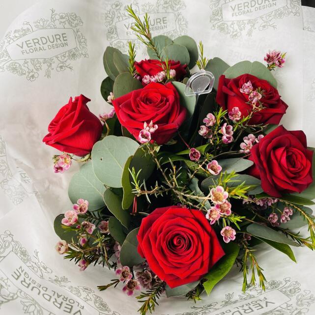 Verdure Floral Design Ltd 5 star review on 12th April 2021