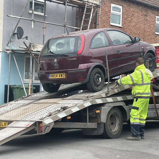 Abbey Scrap Cars 5 star review on 27th April 2021