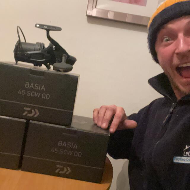 Carp Tackle Giveaways 5 star review on 3rd February 2021