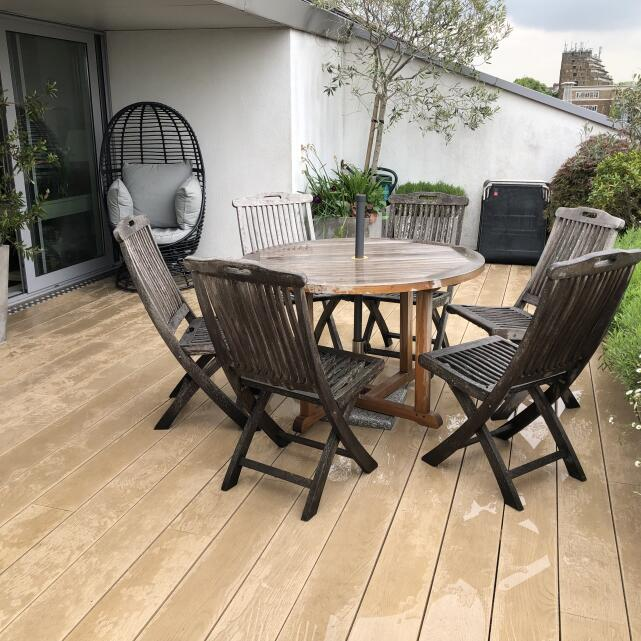 London Decking Company  5 star review on 22nd May 2019