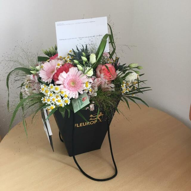 Interflora UK 5 star review on 24th July 2021