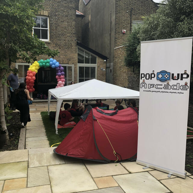 Pop Up Arcade 5 star review on 17th September 2020