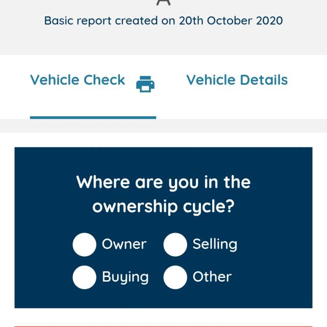 My Car Check 5 star review on 21st October 2020