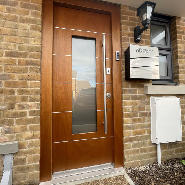 Stronghold Security Doors 5 star review on 7th March 2021