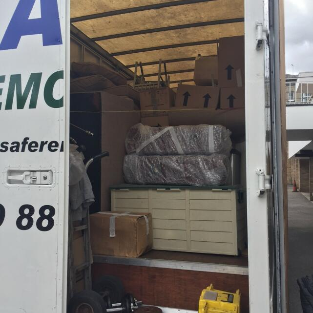 Safe Removals 5 star review on 10th July 2017