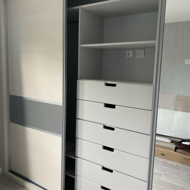 Sliding Door Wardrobes 5 star review on 26th May 2021