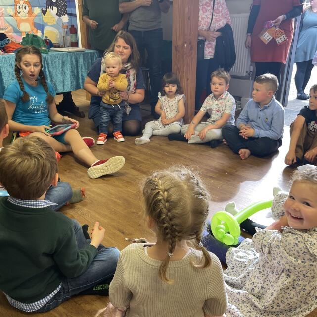 Happy Kinder Parties 5 star review on 11th October 2021
