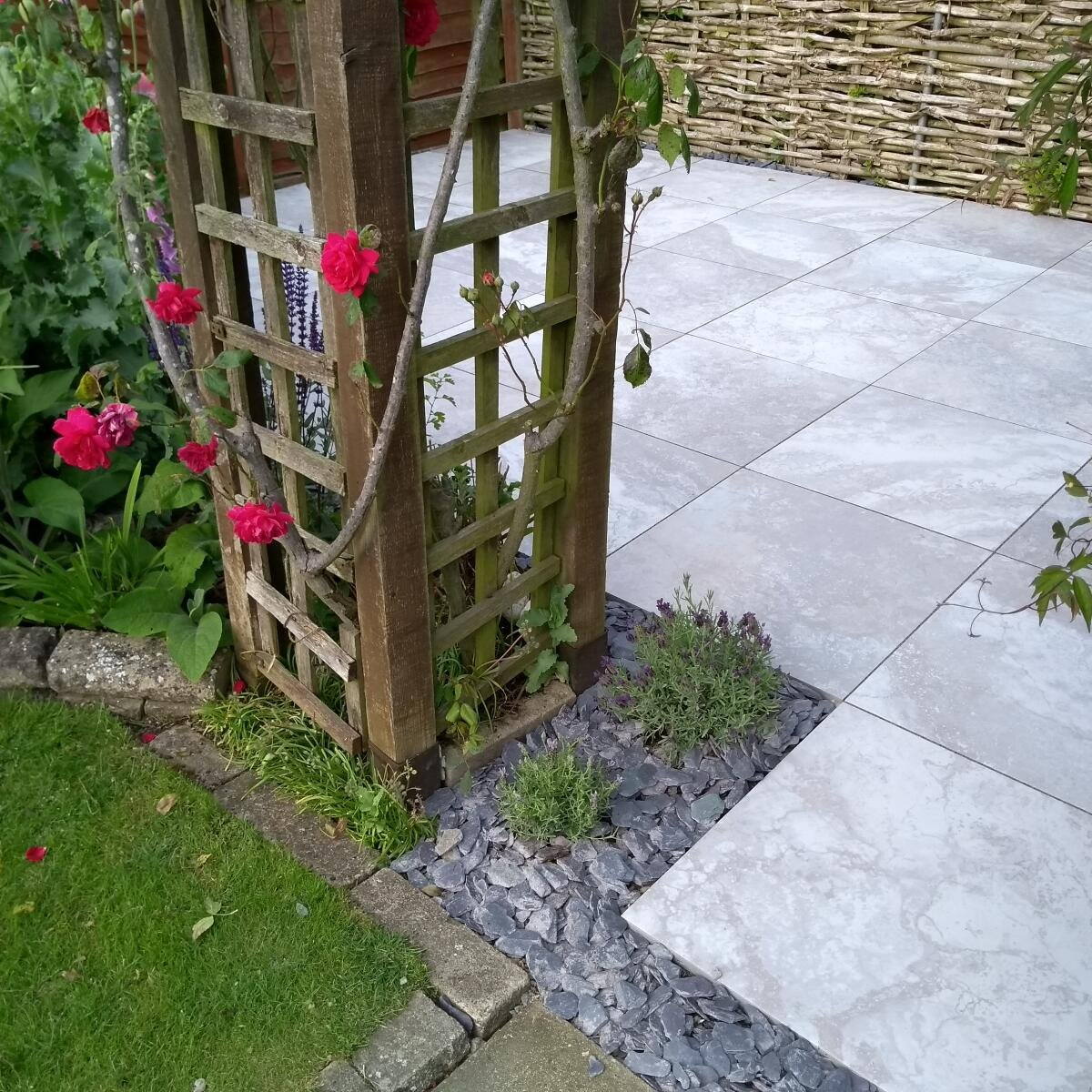 Green Garden Paving  5 star review on 15th June 2018