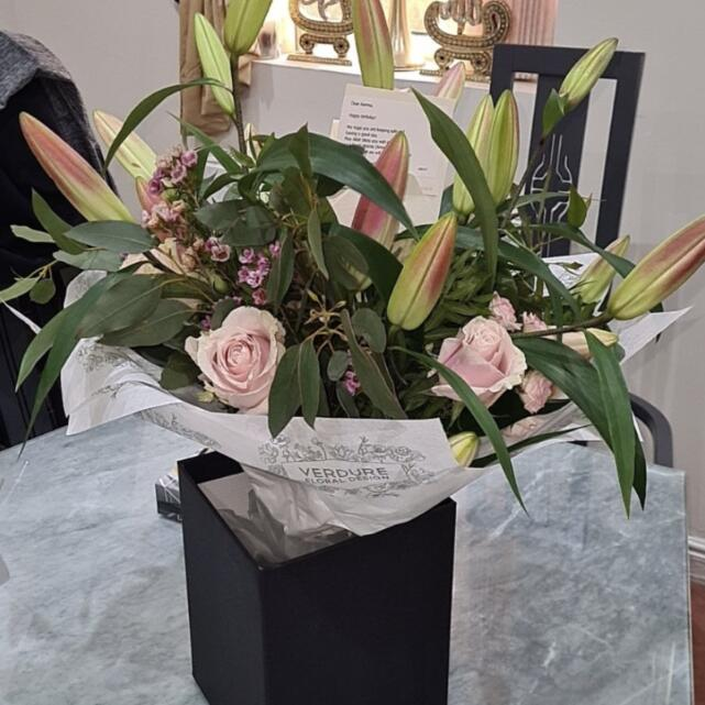 Verdure Floral Design Ltd 4 star review on 22nd March 2021