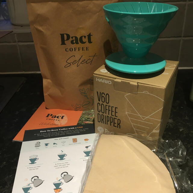 Pact Coffee 5 star review on 12th February 2021