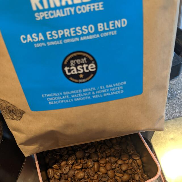 RINALDOS SPECIALITY COFFEE AND TEA LTD 5 star review on 9th September 2021