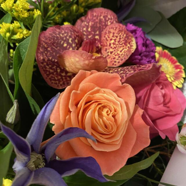 Verdure Floral Design Ltd 5 star review on 7th March 2021