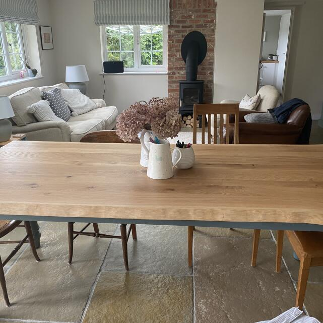 Farmhouse Table Company 5 star review on 30th June 2021