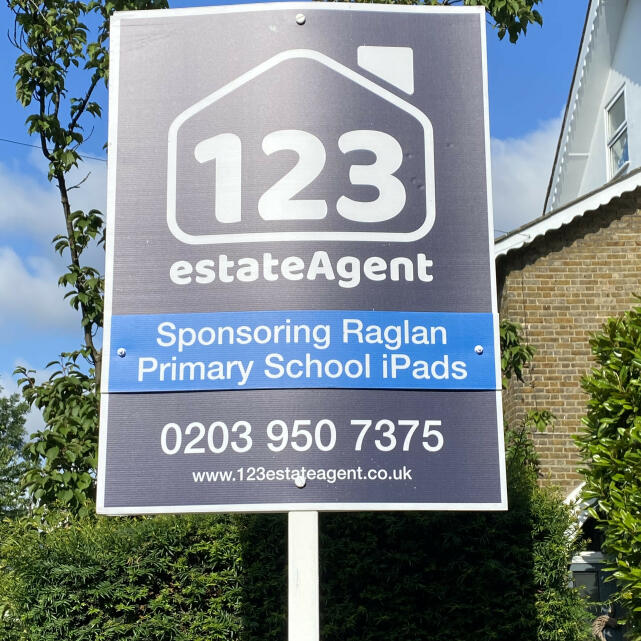 123 Estate Agent  5 star review on 12th July 2021