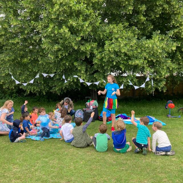 Happy Kinder Parties 5 star review on 27th June 2021