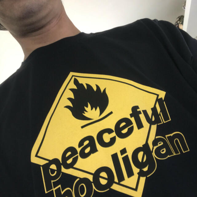 Peaceful Hooligan 5 star review on 20th July 2021