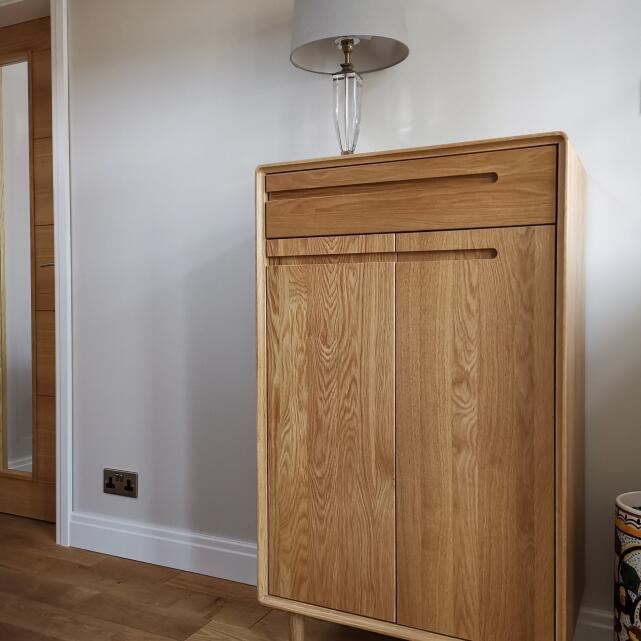 Only Oak Furniture 5 star review on 8th March 2021