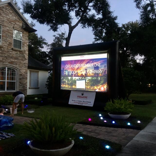 Premiere Outdoor Movies 5 star review on 5th December 2019