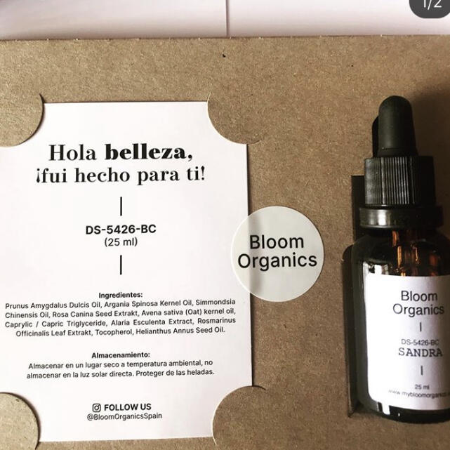 Bloom Organics 5 star review on 7th September 2020