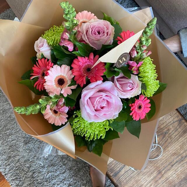 Van Arthur Florist 5 star review on 31st May 2020