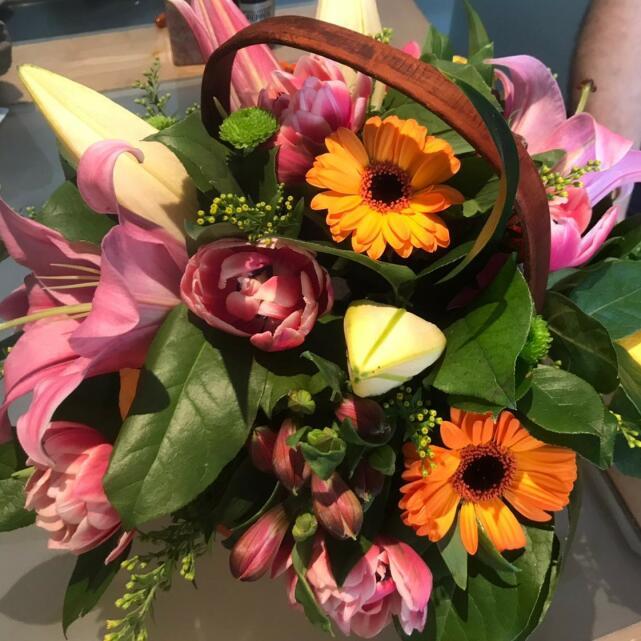 Van Arthur Florist 5 star review on 28th May 2020