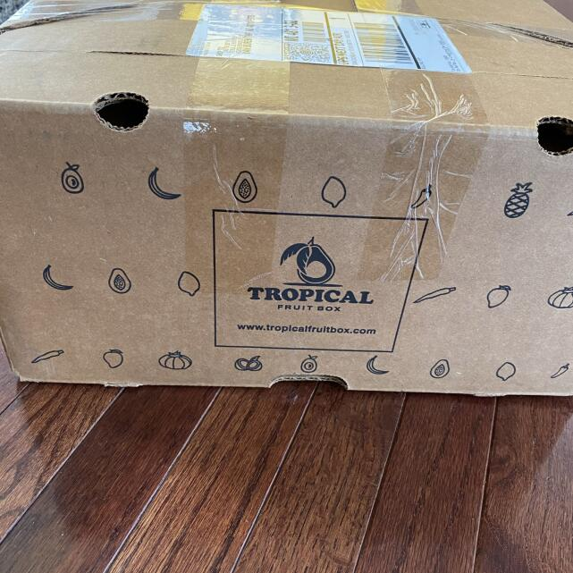 Tropical Fruit Box 5 star review on 30th September 2020